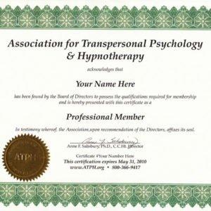 ATPH Professional Membership