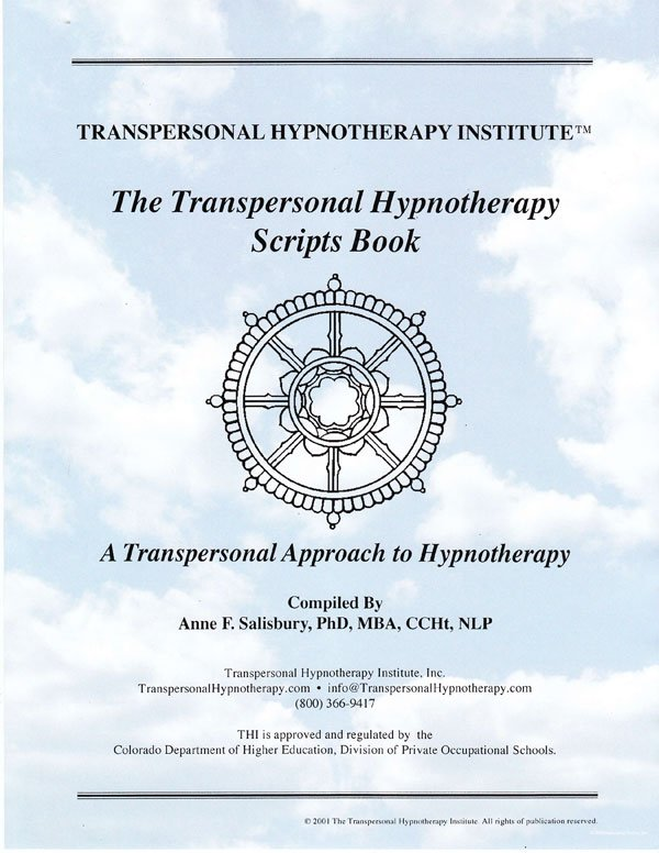 The Transpersonal Hypnotherapy Scripts Notebook