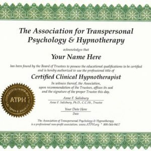 Advanced Clinical Hypnotherapy Certification Courses
