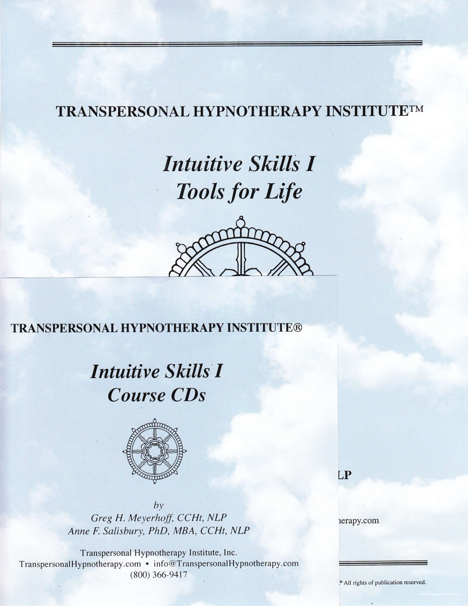 Intuitive Skills 1, Tools for Life Course