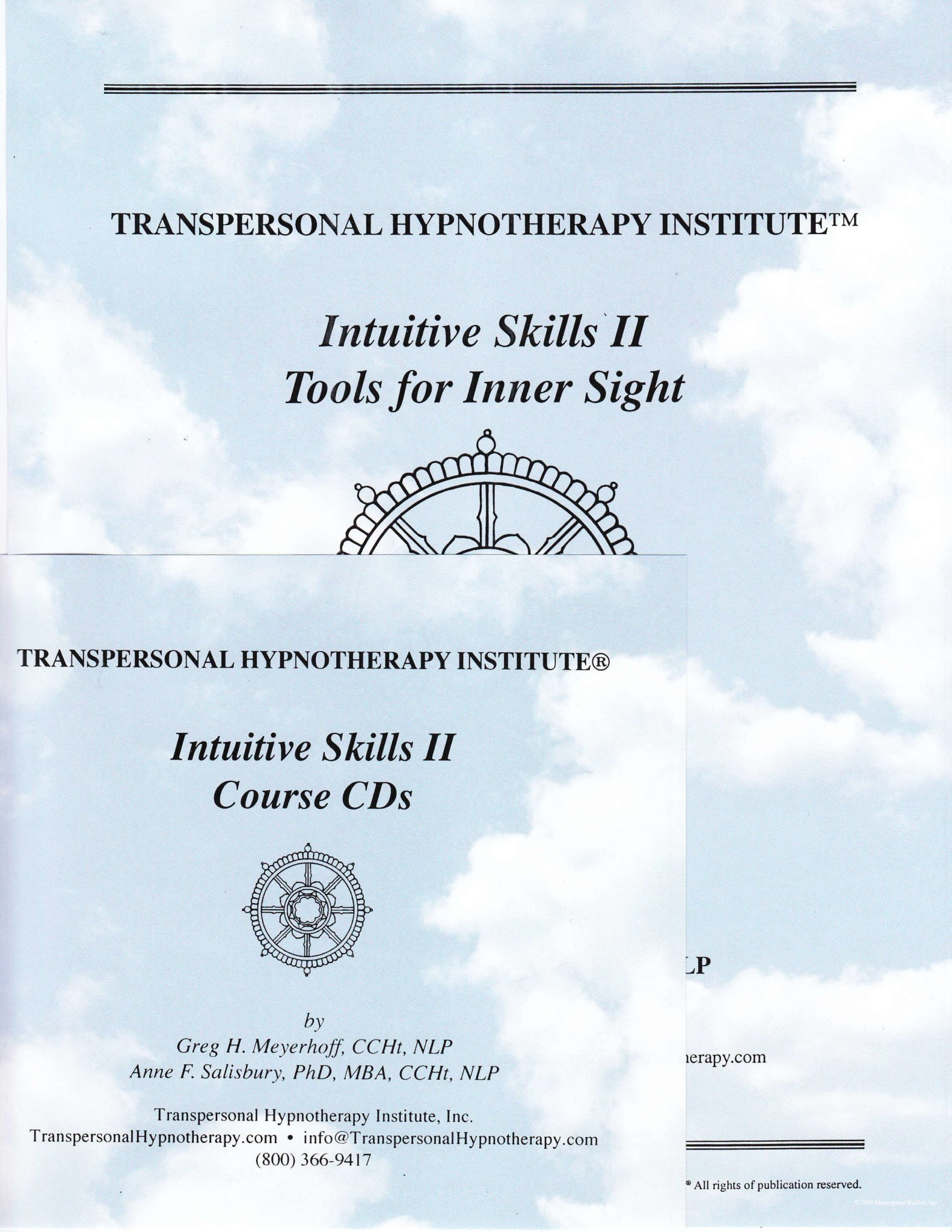 Intuitive Skills 2, Tools for Inner Sight Course