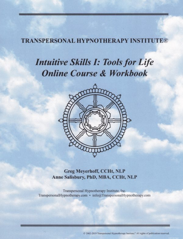 Intuitive Skills 1 Tools for Life Course