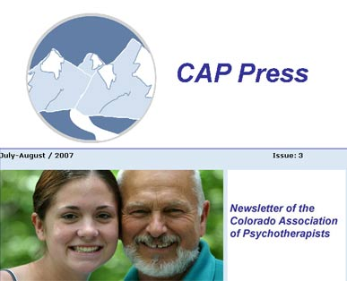 Professional Appeal Professional Appeal  Article for the Colorado Association of Psychotherapists